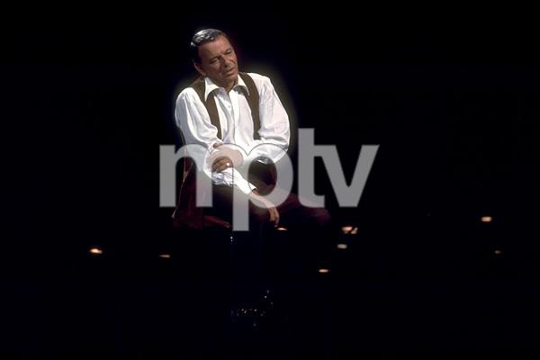 Frank Sinatra on a NBC TV Special 1969 © 1978 Ed Thrasher  - Image 0337_1878