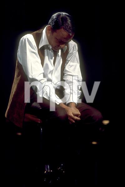 Frank Sinatra on a NBC TV Special 1969 © 1978 Ed Thrasher  - Image 0337_1879