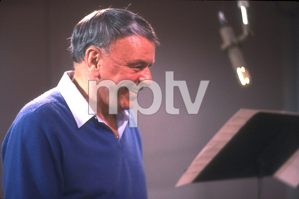 "Frank Sinatra at the Reprise recording session of ""L.A. Is My Lady"" / A&R Studios, New York / 1984 © 1984 Ed Thrasher - Image 0337_1971"