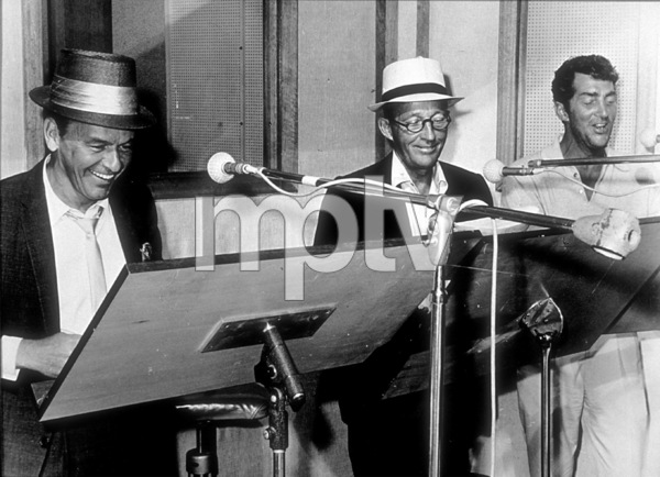 Frank Sinatra with Bing Crosby and Dean Martin at a Reprise recording session / 1964 © 1978 Ed Thrasher - Image 0337_2002