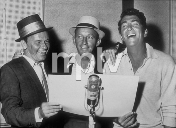 Frank Sinatra with Bing Crosby and Dean Martin at a Reprise recording session / 1964 © 1978 Ed Thrasher - Image 0337_2003