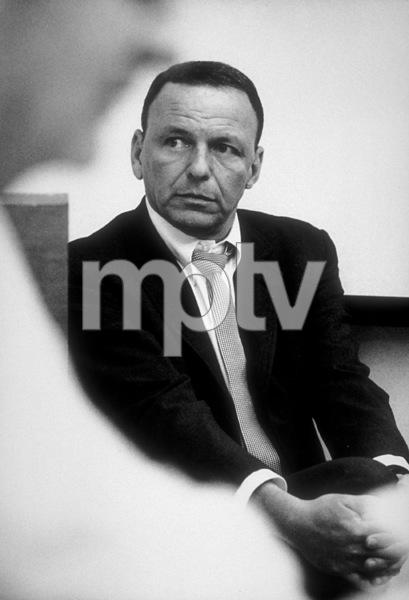 Frank Sinatra at a Repriserecording session / 1967 © 1978 Ed Thrasher - Image 0337_2006