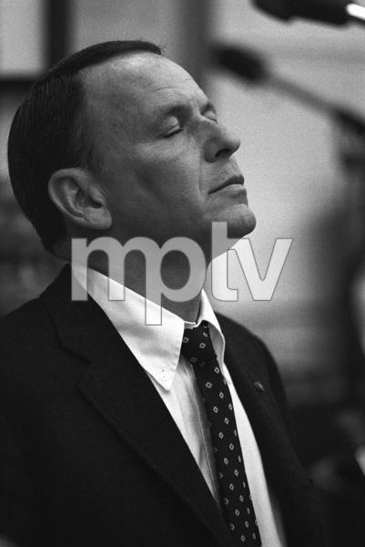 Frank Sinatra at a Reprise recording session1967 © 1978 Ed Thrasher - Image 0337_2013