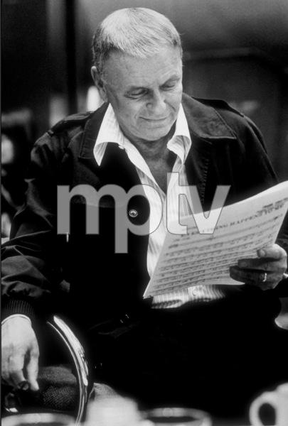 Frank Sinatra at a Repriserecording session / 1981 © 1981 Ed Thrasher - Image 0337_2053