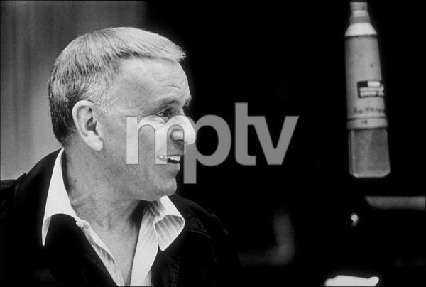 Frank Sinatra at a Repriserecording session / 1981 © 1981 Ed Thrasher - Image 0337_2054