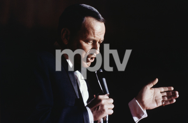"""Frank Sinatra performing on the NBC television special """"A Man and His Music""""1967 © 1978 Ed Thrasher - Image 0337_2061"""