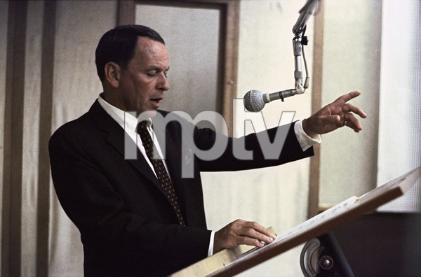 Frank Sinatra at a Reprise recording session1966 © 1978 Ed Thrasher - Image 0337_2069