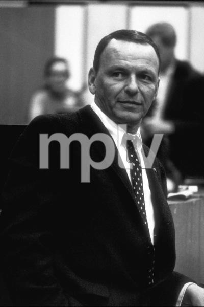 Frank Sinatra at a recording session / Feb., 1967 © 1978 Ed Thrasher - Image 0337_2083
