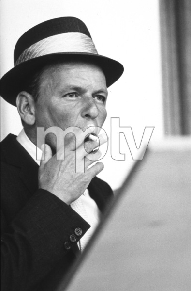 Frank Sinatra at a recording session / June, 1964 © 1978 Ed Thrasher - Image 0337_2085