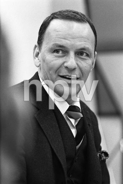 Frank Sinatra at a recording session1965 © 1978 Ed Thrasher - Image 0337_2091