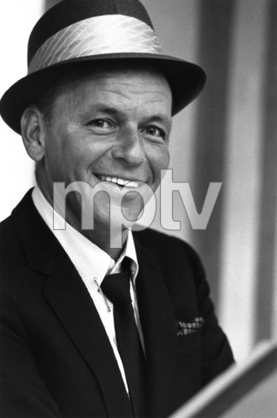 Frank Sinatra at a recording session 1964 © 1978 Ed Thrasher - Image 0337_2097