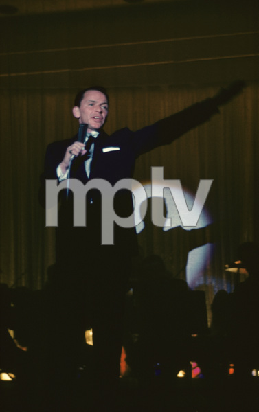Frank Sinatra performing at the Sands Hotel in Las Vegas1957© 1978 Ken Whitmore - Image 0337_2190