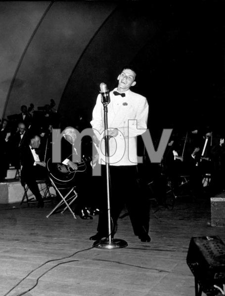 Frank Sinatra, c. 1943at The Hollywood Bowl - Image 0337_2257