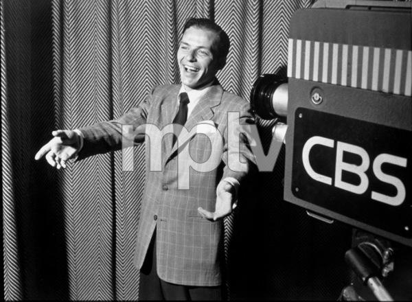 Frank Sinatra,Promotional Still for CBS TV/ Showc. 1950 - Image 0337_2259