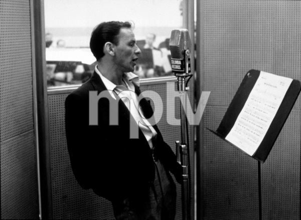 Frank SinatraColumbia recording sessionFeb 6, 1952 - Image 0337_2267