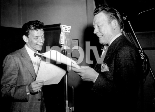 Frank Sinatra with Fred Allan - Image 0337_2269