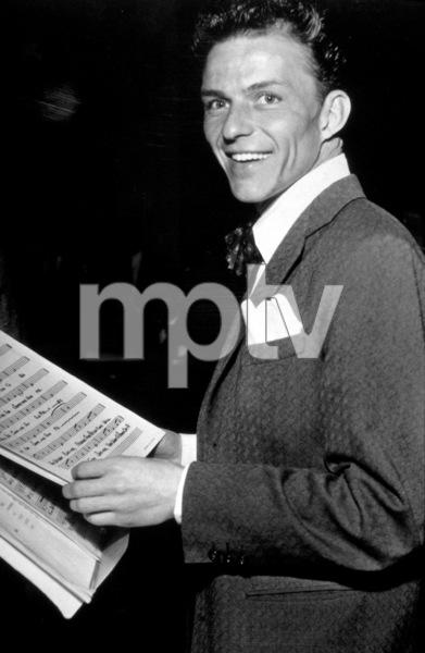 Frank SinatraCBS radio rehearsalOctober 28, 1946 - Image 0337_2278