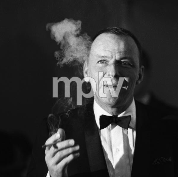 Frank Sinatra at a Cedars-Sinai benefit at the Beverly Hilton Hotel1966 © 1978 Chester Maydole - Image 0337_2336