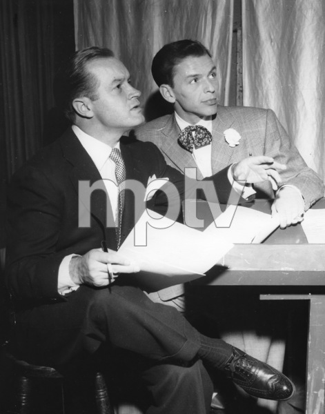 Frank Sinatra, BOB HOPE SHOW, NBC Photo, early 1948, **I.V. - Image 0337_2344