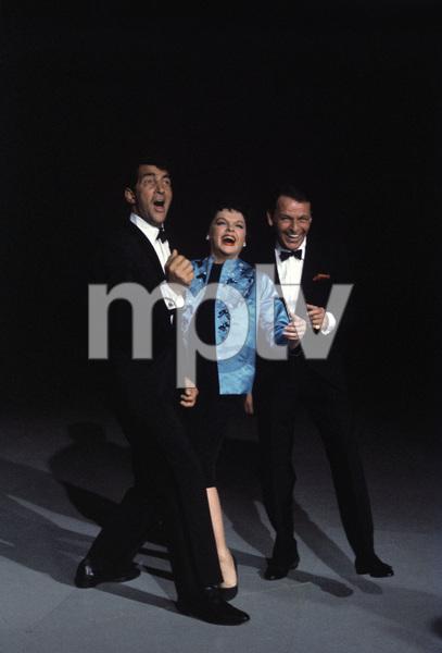 """The Judy Garland Show""Dean Martin, Judy Garland, Frank Sinatra 1962 © 1978 Bob Willoughby  - Image 0337_2345"