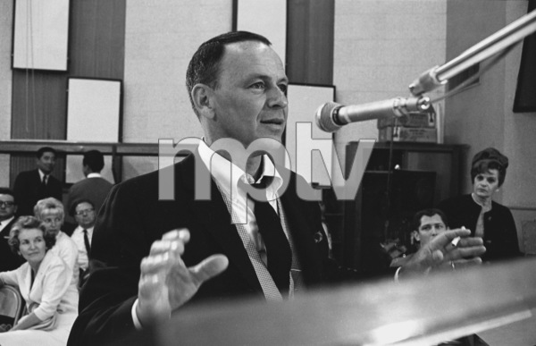 "Frank Sinatra""September of My Years"" Recording SessionApril (4) 1965 © 1978 Ed Thrasher - Image 0337_2374"
