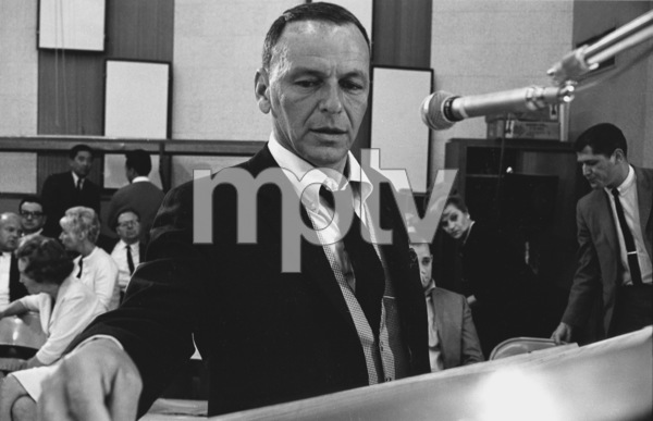 """Frank Sinatra""""September of My Years"""" Recording SessionApril (4) 1965 © 1978 Ed Thrasher - Image 0337_2378"""
