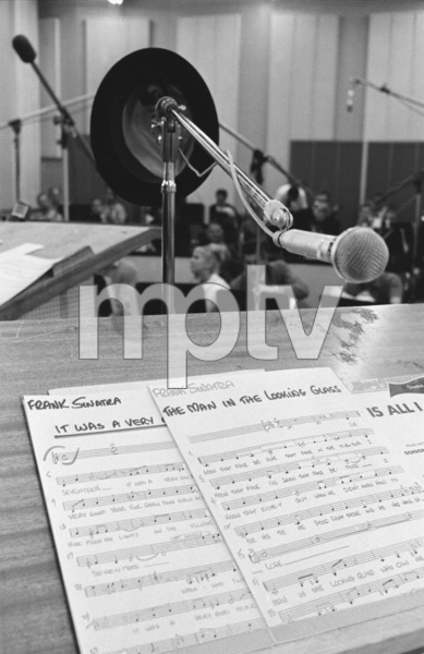 """Frank Sinatra""""September of My Years"""" Recording SessionApril (4) 1965 © 1978 Ed Thrasher - Image 0337_2380"""