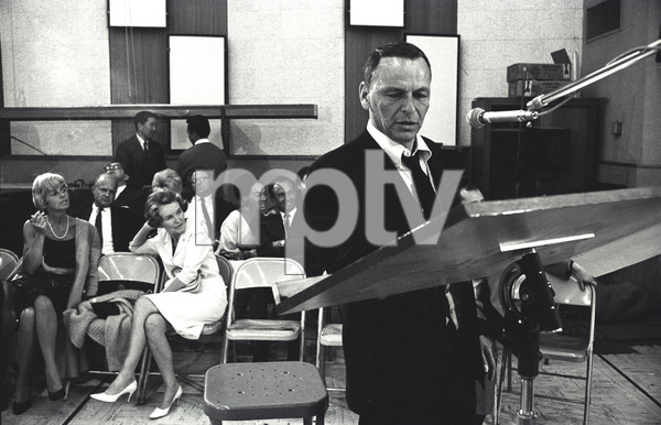 "Frank Sinatra""September of My Years"" Recording SessionApril (4) 1965 © 1978 Ed Thrasher - Image 0337_2391"
