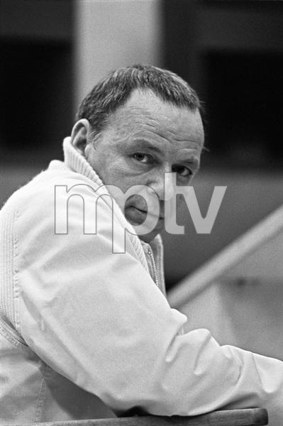 Frank Sinatra at a recording session1969 © 1978 Ed Thrasher - Image 0337_2433
