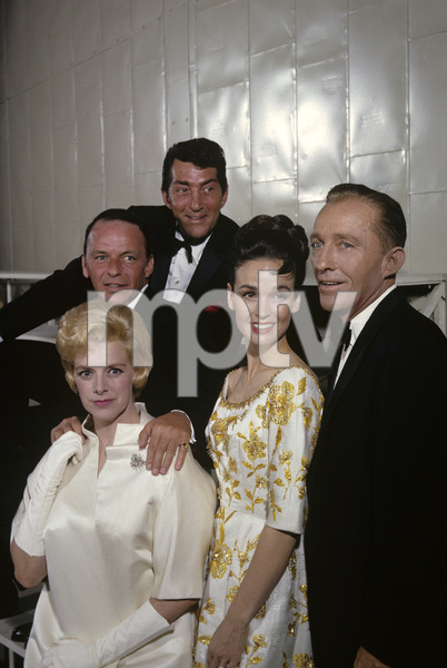 Frank Sinatra with Rosemary Clooney, Dean Martin, Kathryn Grant and Bing Crosby1963 © 1978 Gene Trindl - Image 0337_2470