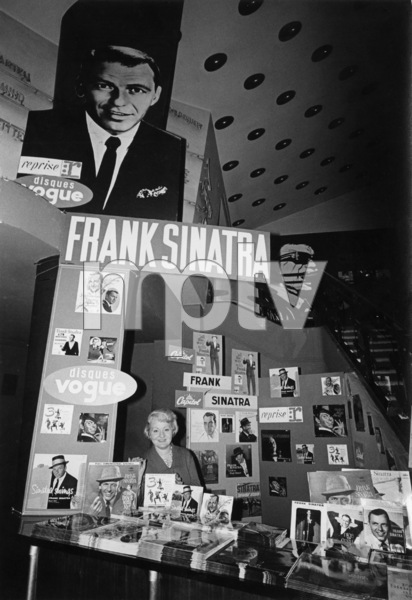 Frank Sinatra record album displaycirca 1960s © 1978 Ted Allan - Image 0337_2480