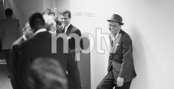 Tony Curtis and Frank Sinatra at an event surrounding the Democratic National Convention1960 © 1978 Bernie Abramson - Image 0337_2487