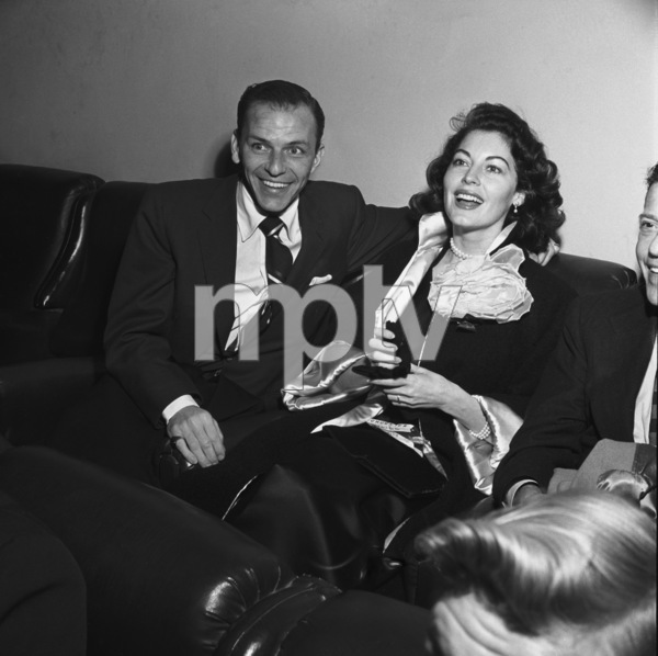 Frank Sinatra and Ava Gardner10-30-1954** I.V. - Image 0337_2493