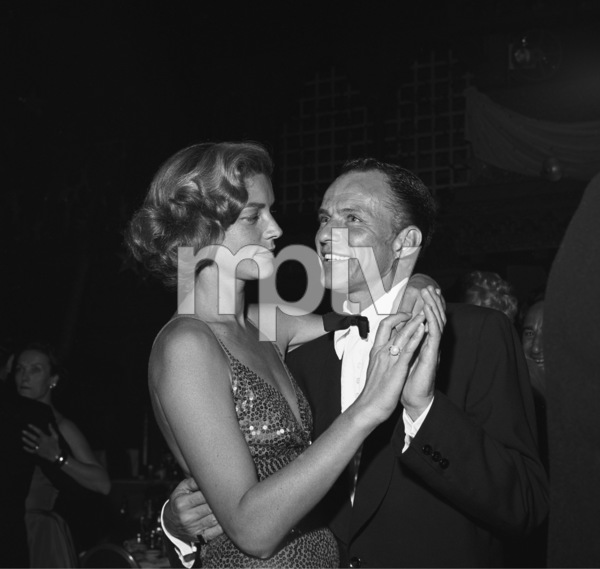 Frank Sinatra dancing with Lauren Bacall at a post-premiere party11-13-1954** I.V. - Image 0337_2494