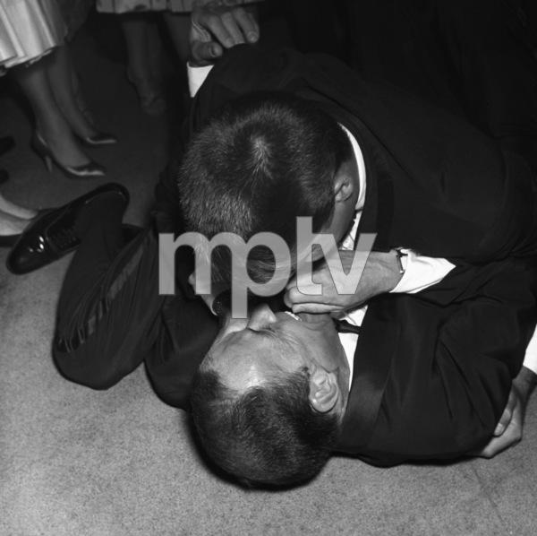 Frank Sinatra and Jerry Lewis09-19-1958** I.V. - Image 0337_2496
