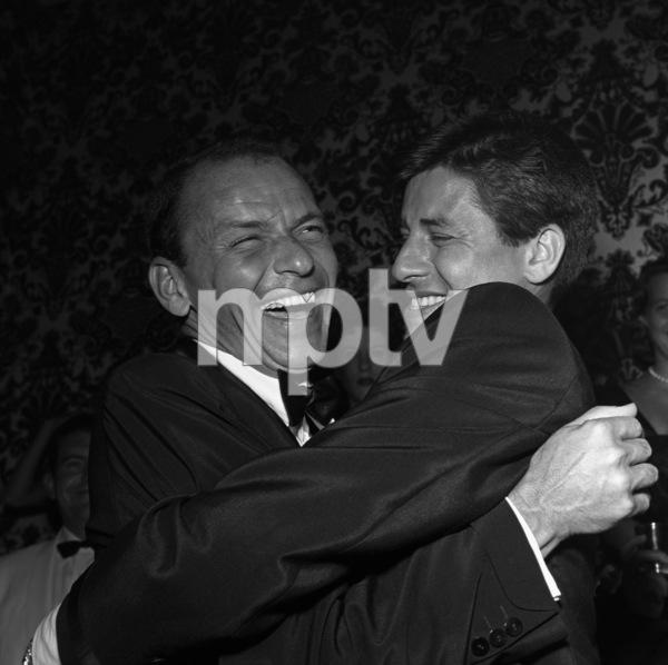 Frank Sinatra and Jerry Lewis09-19-1958** I.V. - Image 0337_2497