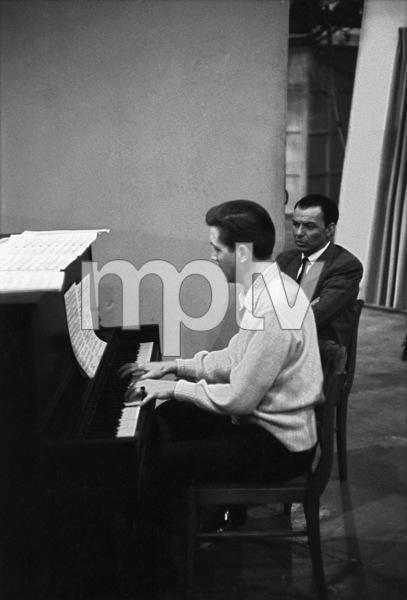 Frank Sinatra and pianist Bill Millercirca 1959** I.V. - Image 0337_2506