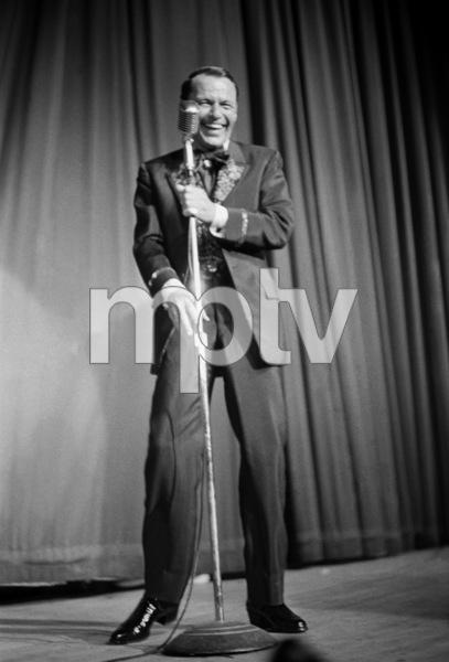 Frank Sinatra performing at a Share Partycirca 1963** I.V. - Image 0337_2510