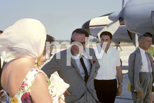 Frank Sinatra and Michael Romanoff1962 © 1978 Ted Allan - Image 0337_2569