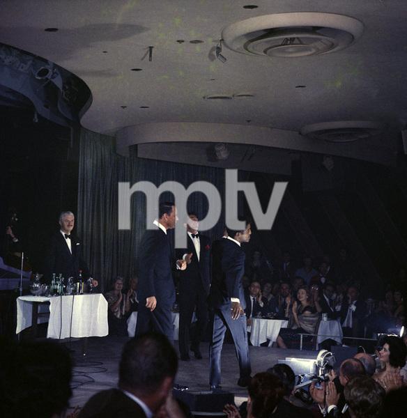 Frank Sinatra, Dean Martin and Sammy Davis Jr. performingcirca 1960 © 1978 Ted Allan - Image 0337_2579