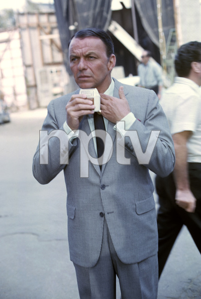 """Frank Sinatra during the making of """"Come Blow Your Horn""""1962 © 1978 Ted Allan - Image 0337_2596"""