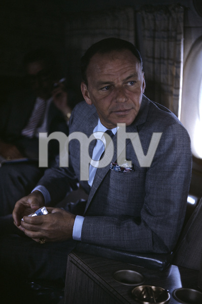 Frank Sinatra on a plane1962 © 1978 Ted Allan - Image 0337_2602