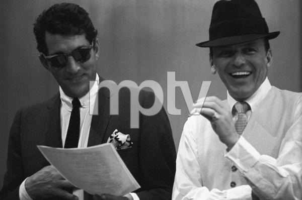 """The Judy Garland Show""Dean Martin, Frank Sinatra 1962 © 1978 Bob Willoughby  - Image 0337_2618"