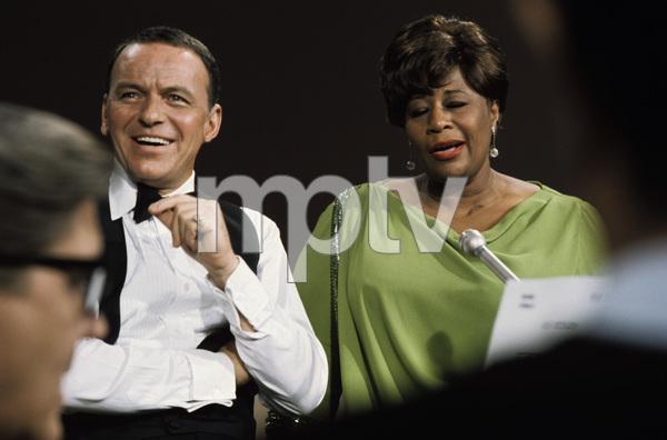 """Frank Sinatra: A Man and His Music + Ella + Jobim"" Frank Sinatra, Ella Fitzgerald 1967 © 1978 Ed Thrasher - Image 0337_2643"