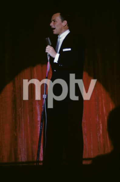 Frank Sinatra performing at the Sands Hotel in Las Vegas1957© 1978 Ken Whitmore - Image 0337_2669