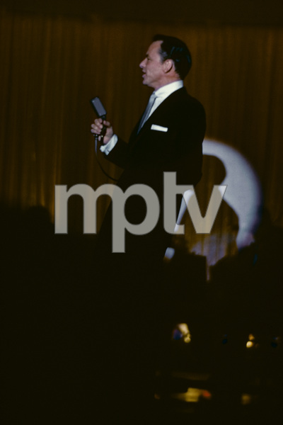Frank Sinatra performing at the Sands Hotel in Las Vegas1957© 1978 Ken Whitmore - Image 0337_2670