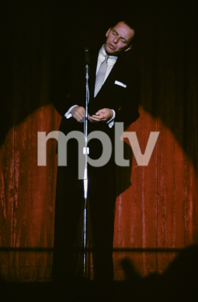 Frank Sinatra performing at the Sands Hotel in Las Vegas1957© 1978 Ken Whitmore - Image 0337_2672