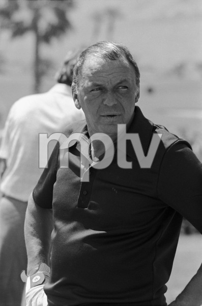 Frank Sinatra at a golf tournamentcirca 1970s© 1978 Gary Lewis - Image 0337_2695