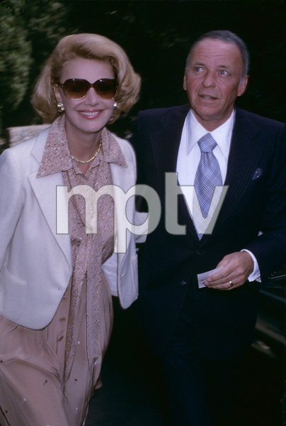 Frank Sinatra with wife Barbaracirca 1970s© 1978 Gary Lewis - Image 0337_2713