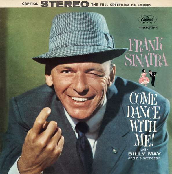 """Frank Sinatra Capitol Records album cover (""""Come Dance With Me!"""")1959Photo by Sid Avery** T.N.C. - Image 0337_2734"""